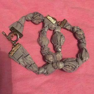 Bracelets made of cloth